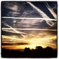 Photo taken at Blackbushe Airport by Richard C. on 9/17/2012