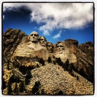 Photo taken at Mount Rushmore National Memorial by Tim S. on 6/6/2013