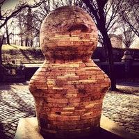 Photo taken at Fort Greene Park by FOKUS on 12/26/2012