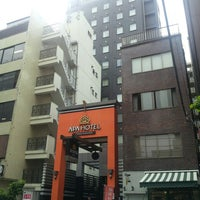 Photo taken at APA HOTEL Tsukiji-Eki-Minami by Y.K C. on 5/22/2013