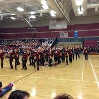 Photo taken at Bismarck High School by Scott W. on 2/9/2013