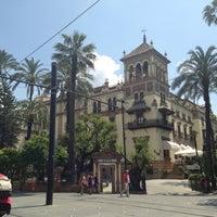 Foto tomada en Hotel Alfonso XIII por Alejandra D. el 5/3/2013