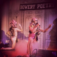 Photo taken at Bowery Poetry Club by Erika W. on 9/14/2015