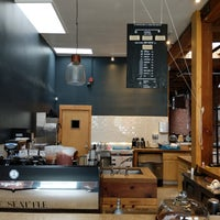 Photo taken at Sextant Coffee Roasters by Minhua Z. on 1/7/2018