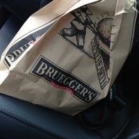 Photo taken at Bruegger's by Jeff C. on 11/23/2012