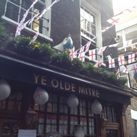 Photo taken at Ye Olde Mitre Tavern by Michiel A. on 4/23/2013