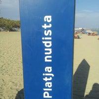 Foto tomada en Playa de la Mar Bella por Albert el 10/7/2012