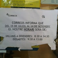 Photo taken at Oficina Correos by Miguel A. M. on 9/13/2013