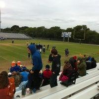 Photo taken at Don Floyd Memorial Stadium by Kyle T. on 10/6/2012