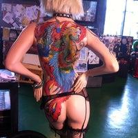 Photo taken at Shanghai Tattoo by Kotiki M. on 2/18/2014