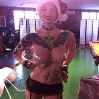 Photo taken at Shanghai Tattoo by Kotiki M. on 1/7/2014