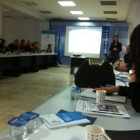 Photo taken at UNDP Istanbul Center For Private Sector In Development by Ozer A. on 11/22/2013