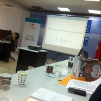 Photo taken at UNDP Istanbul Center For Private Sector In Development by Ozer A. on 2/21/2014