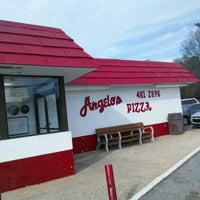 Photo taken at Angelo's Pizza by Andy P. on 1/19/2017
