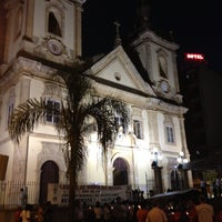 Photo taken at Old Basilica of Our Lady Aparecida by Tibério L. on 6/1/2013