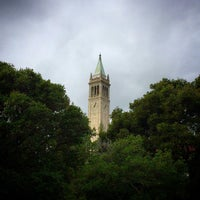 Photo taken at Campanile (Sather Tower) by Kevin on 12/7/2014