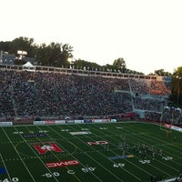 Photo taken at Percival Molson Memorial Stadium by Bob L. on 7/26/2013
