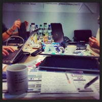 Photo taken at Hypermedia Isobar by Kasia D. on 1/16/2014