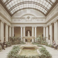 Photo taken at The Frick Garden Court by Chloe N. on 5/9/2016