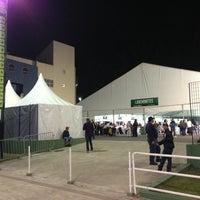 Photo taken at Arena Santos by Alex d. on 7/10/2013