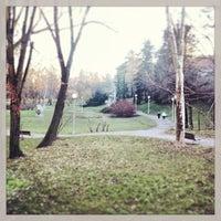 Photo taken at Ribnjak by Fernanda S. on 1/12/2013