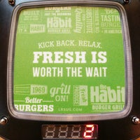 Photo taken at The Habit Burger Grill by Dave W. on 10/4/2018