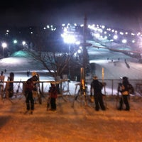 Photo taken at Centre de ski le Relais by Leonel V. on 12/20/2012