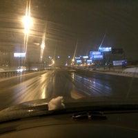 Photo taken at Олимпийский проспект by Vadim О. on 2/26/2016