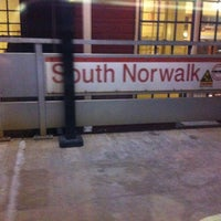 Photo taken at Metro North - South Norwalk Train Station by Stephen M. on 11/9/2012
