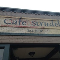Photo taken at Cafe Strudel by Tracy G. on 9/30/2012