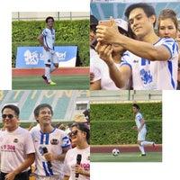 Photo taken at Supachalasai Stadium by Aue K. on 4/22/2017