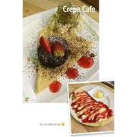 Photo taken at Crepe Cafe by Aue K. on 8/2/2014