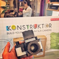 Photo taken at Lomography Gallery Store by Patrick N. on 6/13/2013