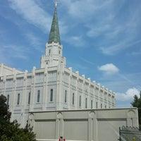 Photo taken at Houston Texas Temple by Joel O. on 8/26/2014