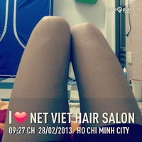 Photo taken at Nét Việt hair salon by Andy D. on 2/28/2013