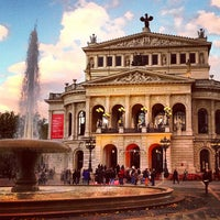 Photo taken at Alte Oper by Patrick T. on 10/15/2012