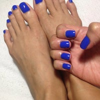 Photo taken at Glam Nails by June on 8/7/2015