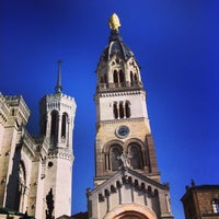 Photo taken at Basilica of Notre-Dame de Fourvière by Cyril R. on 3/3/2013