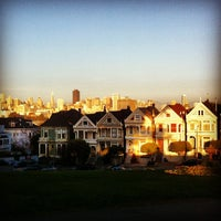 Photo taken at Alamo Square by Cyril R. on 2/7/2013