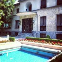 Photo taken at Villa Necchi Campiglio by Cyril R. on 7/21/2013