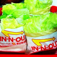 Photo taken at In-N-Out Burger by brent k. on 9/25/2012