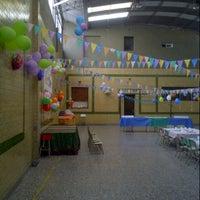 Photo taken at Colegio San Pablo Apostol by Natalia F. on 12/17/2012