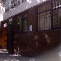 Photo taken at Colegio San Pablo Apostol by Natalia F. on 4/15/2013