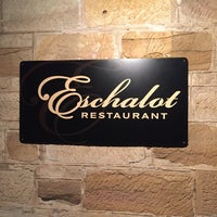 Photo taken at Eschalot Restaurant by Adam H. on 7/15/2017