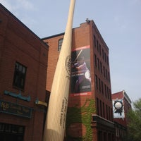 Photo taken at Louisville Slugger Museum & Factory by Yelena S. on 4/23/2013