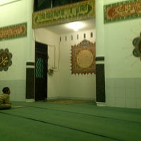 Photo taken at Masjid Al-Muhajirin, Kemang Swatama Residence by Ronald S. on 8/6/2013