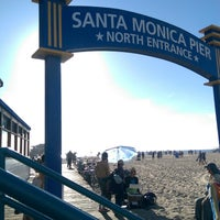 Photo taken at Santa Monica Beach Parking 1N by Abdullah A. on 11/22/2014