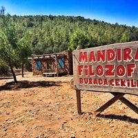 Photo taken at Mandıra Filozofu Koyu by Melis E. on 9/16/2016