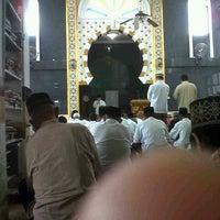Photo taken at Masjid Nurul Iman Kenten by Wahyu H. on 3/22/2013