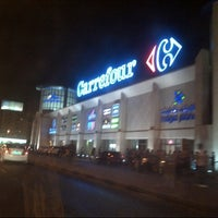 Photo taken at Carrefour by Lily F. on 10/13/2012